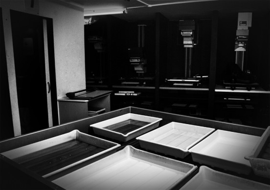 Darkroom course black white photographic printing