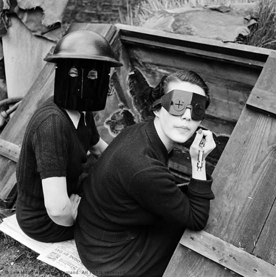Fire Masks, London, England 1941 by Lee Miller (3840-9)