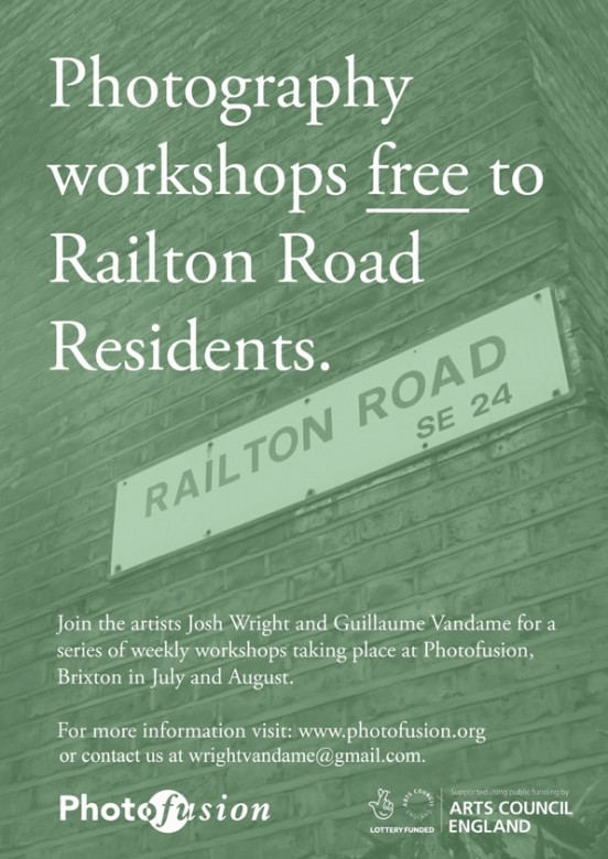 Wright & Vandame | Railton Road Residents Poster