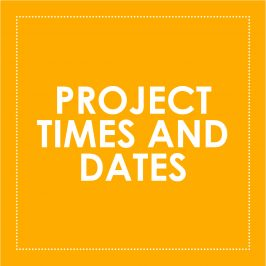 Autography | Project Times and Dates