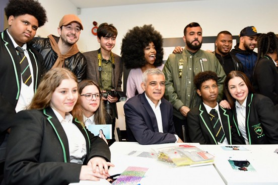 London Mayor Launches Knife Crime Campaign